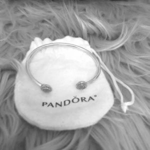 Pandora Signature Bangle, Dust Bag Included
